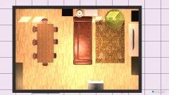 Raumgestaltung Wohnzimmereinrichtung Big-Sofa in der Kategorie Wohnzimmer