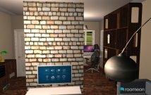 Raumgestaltung WohnzimmerKüche in der Kategorie Wohnzimmer