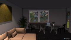 Raumgestaltung Wohnzimmerprojekt in der Kategorie Wohnzimmer