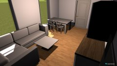 Raumgestaltung Wohnzimmerr in der Kategorie Wohnzimmer
