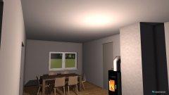 Raumgestaltung Wohnzimnmer in der Kategorie Wohnzimmer