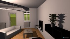 Raumgestaltung Wohnziommer der 1. in der Kategorie Wohnzimmer