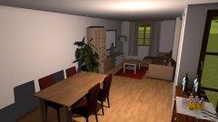Raumgestaltung Wohung 2 Plan in der Kategorie Wohnzimmer