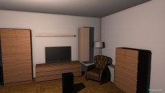 Raumgestaltung Wohung in der Kategorie Wohnzimmer
