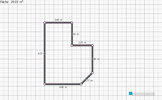 Raumgestaltung Wohzimmer VU in der Kategorie Wohnzimmer
