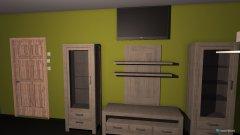 Raumgestaltung wojzimmer in der Kategorie Wohnzimmer