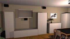 Raumgestaltung Wonzimmer mit THX 4 in der Kategorie Wohnzimmer