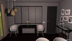 Raumgestaltung Wonzimmer Morrison in der Kategorie Wohnzimmer