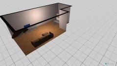 Raumgestaltung Wonzimmer in der Kategorie Wohnzimmer
