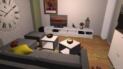 Raumgestaltung Wozi 2 in der Kategorie Wohnzimmer