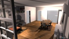 Raumgestaltung WoZi Freiburg in der Kategorie Wohnzimmer