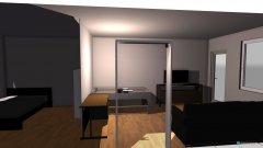 Raumgestaltung Wozi getrennt in der Kategorie Wohnzimmer