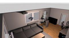Raumgestaltung Wozi Julian EG_1 in der Kategorie Wohnzimmer