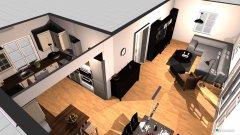 Raumgestaltung WOZI Küche in der Kategorie Wohnzimmer