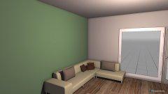 Raumgestaltung Wozi Nina in der Kategorie Wohnzimmer