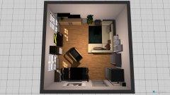 Raumgestaltung Wozi Zwenkau in der Kategorie Wohnzimmer