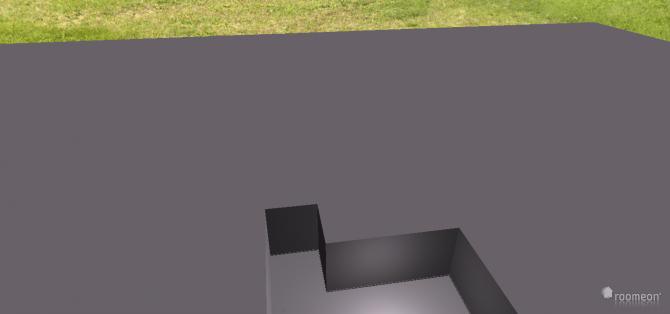 Raumgestaltung WZ-Dachschräge mit Gaubenfenster in der Kategorie Wohnzimmer