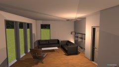 Raumgestaltung WZ drei in der Kategorie Wohnzimmer