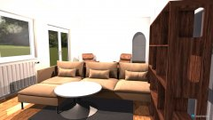 Raumgestaltung WZ-Entwurf-1 in der Kategorie Wohnzimmer
