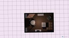 Raumgestaltung WZ Haus in der Kategorie Wohnzimmer
