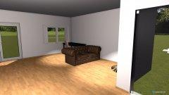 Raumgestaltung WZ keine Wand in der Kategorie Wohnzimmer