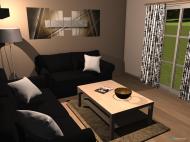 Raumgestaltung WZ-Konzept in der Kategorie Wohnzimmer