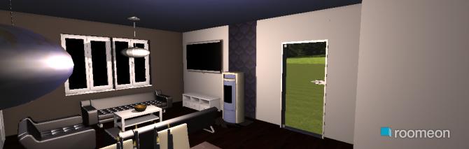 Raumgestaltung Wz, Kü, EZ 2 in der Kategorie Wohnzimmer