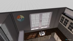 Raumgestaltung WZ Küche 1 Entwurf in der Kategorie Wohnzimmer