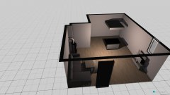 Raumgestaltung WZ Küche in der Kategorie Wohnzimmer