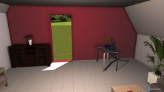 Raumgestaltung WZ OG in der Kategorie Wohnzimmer