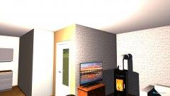 Raumgestaltung WZ und KÜ zusammen in der Kategorie Wohnzimmer