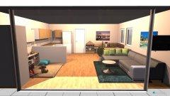 Raumgestaltung WZ Variante 5 in der Kategorie Wohnzimmer