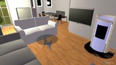 Raumgestaltung WZ VKSK in der Kategorie Wohnzimmer