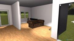 Raumgestaltung WZ wenig Wand in der Kategorie Wohnzimmer