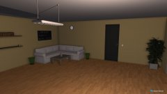Raumgestaltung Zimmer 01 Klein n.i.Arbeit in der Kategorie Wohnzimmer