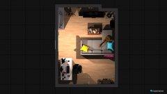 Raumgestaltung Zimmer als Wohnzimmer in der Kategorie Wohnzimmer