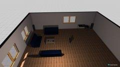 Raumgestaltung zimmer apple in der Kategorie Wohnzimmer