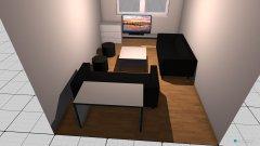 Raumgestaltung Zimmer erster Versuch in der Kategorie Wohnzimmer