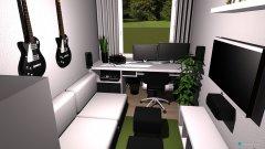 Raumgestaltung Zimmer Jena in der Kategorie Wohnzimmer