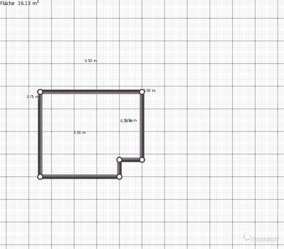 Raumgestaltung Zimmer Manuel in der Kategorie Wohnzimmer