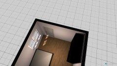 Raumgestaltung Zimmer ohne Schrank in der Kategorie Wohnzimmer