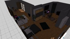 Raumgestaltung Zimmer umbau in der Kategorie Wohnzimmer
