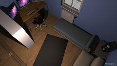 Raumgestaltung Zimmer Variante 1 in der Kategorie Wohnzimmer