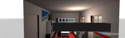 Raumgestaltung Zimmer Wohnen in der Kategorie Wohnzimmer