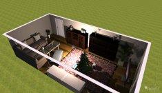 Raumgestaltung ZO in der Kategorie Wohnzimmer
