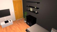 Raumgestaltung Zockerzimmer001-01 in der Kategorie Wohnzimmer
