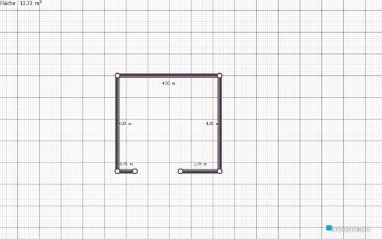 Raumgestaltung зал in der Kategorie Wohnzimmer