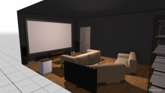 room planning CINEMA KAMER in the category Basement