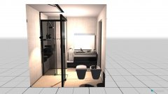 room planning Baño 1er piso in the category Bathroom