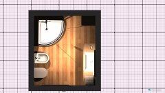 room planning Baño arriba in the category Bathroom